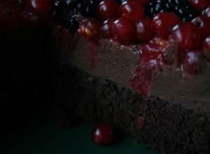 vegane Schokoladen-Torte