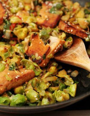 Rezept für Rosenkohl vegetarisch vegan