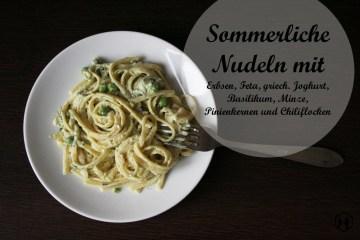 pasta-mit-erbsen-minze-basilikum-feta-joghurt